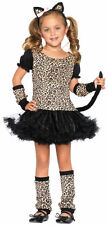 Child Toddler and Kids Little Leopard Girls Costume - Cat Costumes Small 4-6