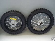 "HMParts Dirt Cross Pit Bike  Alu  Felgen SET Eloxiert 16"" / 19"" schwarz"