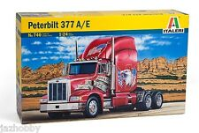 Italeri 0740 1/24 Scale Model Kit American Truck Peterbilt 377 A/E