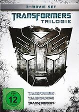 TRANSFORMERS - TRILOGIE Teil  1 2 3 Michael Bay TRILOGY 3 DVD Box Edition  Neu