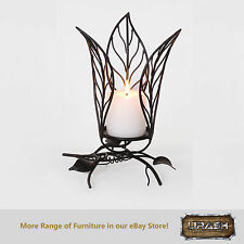 Home Decor Handmade Votive Table Candle Holder Wrought Iron