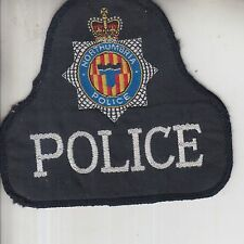 OBSOLETE NORTHUMBRIA POLICE EMBROIDERED CLOTH PATCH / BADGE