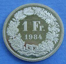 Zwitserland - Switzerland  1 Franc 1984 Nice!