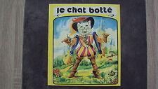 Vieux livre pour enfants- Le chat botté - Editions Jesco - 1976