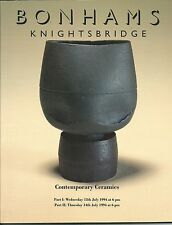 BONHAMS CONTEMPORARY CERAMICS Braden Cardew Coper Leach Rie Smith Ward Catalog94