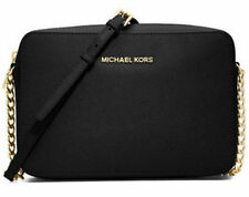 MICHAEL KORS Womens[Jet Set Travel Lg Ew Cross body] Shoulder Bag Genuine Black