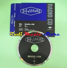 CD singolo DEF LEPPARD breathe a sigh UK PROMO 1996 MERCURY no vhs dvd(S18)