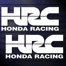 "6.0""X2P. HRC HONDA RACING TEAM STICKER DIE-CUT DECAL VINYL RACING NO BACKGROUND"