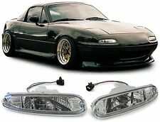 PAIR OF CLEAR INDICATORS LIGHTS FOR MAZDA MX5 NA 05/1990 - 04/1998