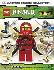 New LEGO Ninjago Ultimate Sticker Collection (Bricks House)