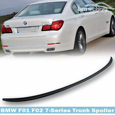 BMW 7-Series F01 4DR Saloon M3-Style Rear Boot Spoiler Wing 09-15 UK Seller