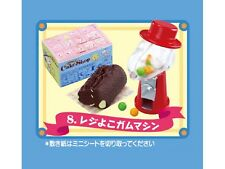 Re-ment Peanuts Snoopy's Cake Shop - Roll cake & mini bean candy machine - No.8