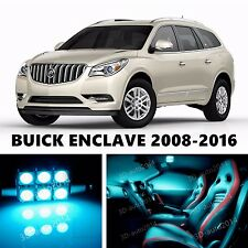 17pcs LED ICE Blue Light Interior Package Kit for  BUICK ENCLAVE