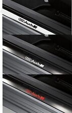 4 x AUDI - Inner Door Sills - VINYL CAR DECAL STICKER ADHESIVE Logo - 150mm long