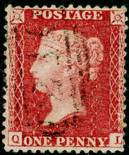 Sg40, 1d rose-red, LC14, FINE used. Cat £12. QL
