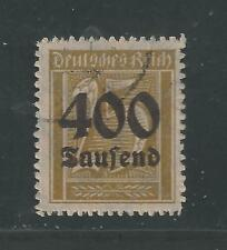 GERMANY, WEIMAR REPUBLIC # 274 Used INFLATION ISSUE