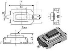 5 Stück SMD Subminiatur-Taster Neu und RoHS kein Porto, FFb, KeyCard, Schlüssel