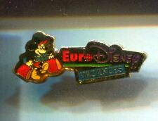 RARE PINS PIN'S .. DISNEY PARIS OPENING 1992 MICKEY MOUSE VACANCES HOLYDAYS ~17