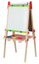 E1010 HAPE Wooden All-in-1 Art Chalk Easel [Early Melodies] Children Age 3yrs+