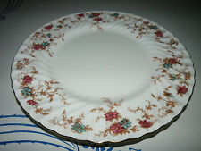 Beautiful Vintage Minton Ancestral Fine Bone China Dinner Plate Globe Backstamp