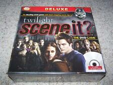 TWILIGHT SCENE IT? Deluxe Edition DVD Trivia Game NEW Sealed 2009