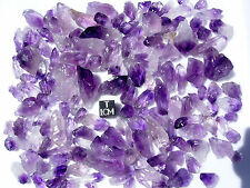 200 grams of Uruguay AMETHYST Rough Point Crystal Pieces Chunks peace meditation