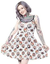 Liquorbrand animal hospital dress Size M alternative goth rockabilly tattoo