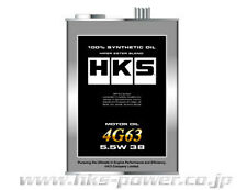HKS 4 LITES ENGINE OIL 5.5W 38 FOR MITSUBISHI EVO 1-9 4G63 CT9A CP9A CE9A