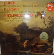 J.S. Bach Sinfonias from cantatas bwv 12 and 21 33rpm  6500-830   100116LLE#2