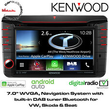 KENWOOD DNX 516 piccole quantità VW SEAT Škoda Navigatore DVD Bluetooth Apple Android DAB STEREO