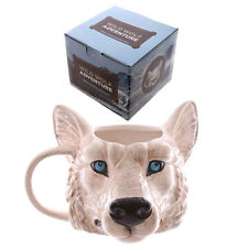 WOLF HEAD MUG | Cute Mugs | Unique Gift | Unusual Cup | Work Mugs | Secret Santa