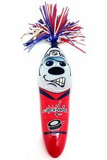NHL Washington Capitals Kooky Klicker Kollectible Pen Key Clip Red Unise Serie 1