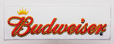 BUDWEISER BEER Embroidered Iron-On Patch- MIX 'N' MATCH - #1K12