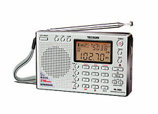Tecsun PL-380 DSP with ETM PLL World Band Radio ** SILVER **