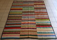 Vintage Caput Kilim Rug Handmade with Goat Hair and Cotton Carpet 7'9''X9'8''