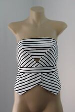 NWT Size S 10 Bardot Ladies Top Cami Bustier Strapless Cocktail Party Hot Design