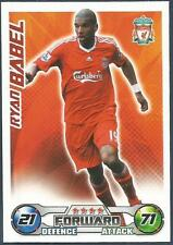 TOPPS MATCH ATTAX 2008-09-LIVERPOOL & HOLLAND-RYAN BABEL