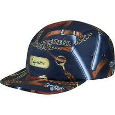 SUPREME Remington Camp Cap Navy camo camp safari garcons S/S 14