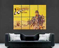 Indiana Jones Raiders of the Lost Ark Movie Poster Pared Arte Película Clásica