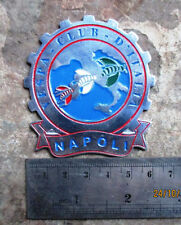 VESPA CLUB NAPOLI Metall Plakette PLACCA BADGE ITALIA PLAQUE GS 150 160 FOR SALE