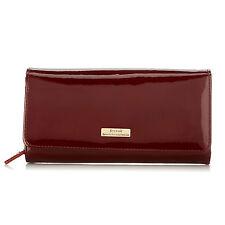 Serenade Azura Burgundy Leather Wallet (WSV8-01)