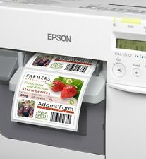 Etiketten 56 x 25  mm MATT   Epson Colorworks TM- C3400 C3500