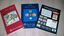 Lot Auction Catalogues Coins Paper Money Stamps Medals Rasmussen Michael Rogers