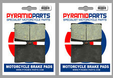 Indian 1700 Chief Roadmaster 09-13 Front Brake Pads (2 Pairs)