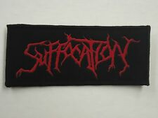 SUFFOCATION DEATH METAL WOVEN PATCH