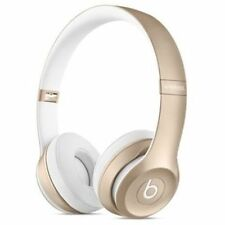 Beats by Dr. Dre Solo 2 Wireless Headband Headphones Gold Special Edition
