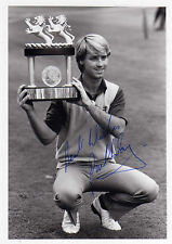 GOLF - PAUL WAY - SIGNED - PHOTO HOLDING TROPHY - RARE