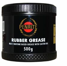 PENRITE RED RUBBER GREASE 500 GRAMS TUB BRAKE HYDRAULIC SYSTEMS ORINGS SEALS