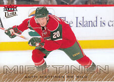 09/10 FLEER ULTRA GOLD MEDALLION #75 ANTTI MIETTINEN WILD *3594