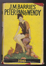 Peter Pan and Wendy - J M Barrie / Mabel Lucie Attwell - Hodder Yellow Jacket